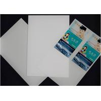 Wholesale Card making PVC card material plastic sheet for laser printing Fast drying feature from china suppliers