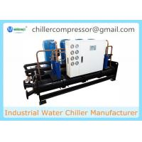 Quality 210kw 60Tons Scroll Water Cooled Chiller for Injection Machines for sale