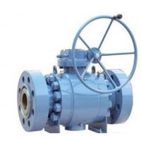 Buy cheap 3 Piece Carbon Steel Trunnion Ball Valve , bare stem, actuators ball valve from wholesalers