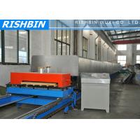 Wholesale 35 KW Hidden Wall PU Sandwich Panel Machine with Flying Shear from china suppliers