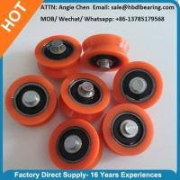 Wholesale Window and Door Accessories Carbon Steel Bearing Plastic Roller from china suppliers