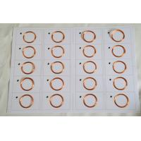 Wholesale 500 - 1000pcs per box IC / bank card dry inlay , uhf rfid inlay Pet and etching aluminum antenna from china suppliers