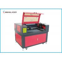 Wholesale Non - Metal 6090 Cnc Laser Engraving Cutting Machine 100W Tube Red Point Auto Focus from china suppliers