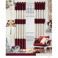 Wholesale Elegant Blackout Fabric Luxury Ready Made Curtains / Jacquard Window Curtain With Polyester from china suppliers
