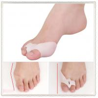Wholesale Bunion Shield Splint Gel Silicone 2-Toe Spacer Prevention Protector with release hole from china suppliers