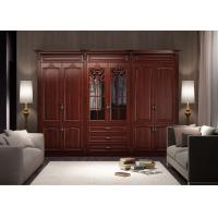 Wholesale European style simple design modern bedroom wardrobe from china suppliers