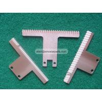 Wholesale food industry plastic bag film cutting packaging machine serrated blade from china suppliers