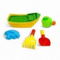 Buy cheap Sand Beach Toys/Playing Boat with Accessory and EN71 and N6P Marks, Made of PP from wholesalers