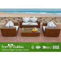 Wholesale Heavy Duty Outdoor Terrace Furniture , Wooden Garden Furniture 1.2mm / 1.5mm Frame from china suppliers