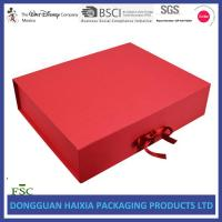 Quality Clothing / Shoes Packaging Foldable Gift Box Custom Size Design Accepted for sale