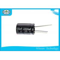 Wholesale 25V / 330uF Capacitor For Washing Machines , 1uf 400v Capacitor CD110X OEM Approved from china suppliers