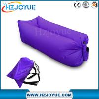Wholesale Factory detect sell OEM LOGO Fast inflatable sleeping bag/inflatable air bed lazy lounger air sofa bag from china suppliers