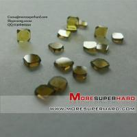 Wholesale monocrystal diamond plate  Cocoa@moresuperhard.com from china suppliers