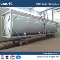 Wholesale CIMC 40 foot bulk tank container to carry diesel , cement , gasoline from china suppliers