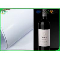 China High Whiteness Jumbo Roll Paper Smooth Surface 80gsm 85gsm 90gsm For Wine Labels on sale