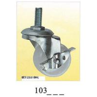 Wholesale PP small caster  caster wheel screw with brake 103 from china suppliers