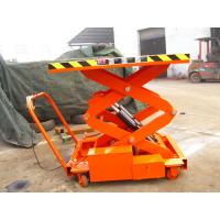 Wholesale SJY0.3-3  aerial work platform for electric scooter scissor work platform 300 kg  9.8 feet high from china suppliers