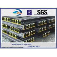 Wholesale Customized 6m - 12m Overhead Crane Track / Steel Rail Track GB15KG GB22KG GB30KG from china suppliers