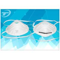 Wholesale Disposable FFP1/2/3 Half Face Mask With Valve 94% BFE , Earloop Procedure Masks from china suppliers
