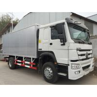 Wholesale White Commercial Cargo Truck 16 Tons 15 CBM One Sleeper Cab High Roof from china suppliers