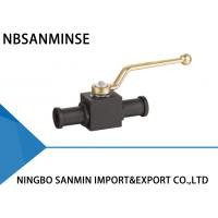 Wholesale KHB KHM Shut Off Hydraulic Ball Valve Carbon Steel 16mm 20mm 25mm Diameter With SAE Flange from china suppliers