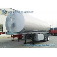 Wholesale Mechanical / Pneumatic 35m3 Oil Tank Trailer Tandem Axle Trailer from china suppliers