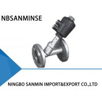 Wholesale Professional PV 400 Pneumatic Angle Seat Valve High Effective Sealing With Flange from china suppliers