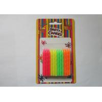 Wholesale Rainbow Fluorescent Candles Flameless 5.8CM Height Paraffin Wax Material from china suppliers