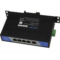 Wholesale 9 - 48V , 5-port Unmanaged Steel Industrial Ethernet Switches from china suppliers
