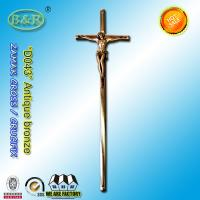 Wholesale 52cm*16cm zamak Cross And Crucifix With Fashion Style D043 antique bronze color zinc alloy decoration from china suppliers