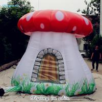 Wholesale 3m Height Inflatable Mushroom House with Blower for Kids and Adults from china suppliers