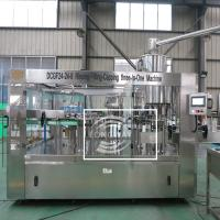 Wholesale CSD Filler /Carbonated Soft  Water3in1 Filling Machine Manufactures For Sale from china suppliers
