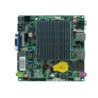 Wholesale Onboard Intel J1900 Fanless NANO Motherboard With USB3.0 / 2 Gigabit LAN / 2 COM from china suppliers