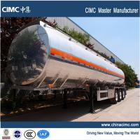 Wholesale tri-axle fuel trailer tankers with 38000 litres payload capacity from china suppliers