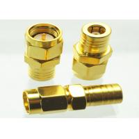 Wholesale 1.5 VSWR SMB RF Connector SMA Male To SMB Female Adapter 0-18 Ghz from china suppliers