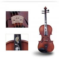 Wholesale Tianyin Brand New Natural Ebony Professional Grading Test Violin Instruments  High Grade Hand made Solo Playing Violin from china suppliers