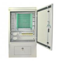 Quality SMC Material Optical Termination Box , 144 Cores SMC Cross Connect Cabinet for sale