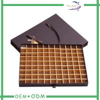 Wholesale Handmade Drawer Box Style Paper Chocolate Boxes With Handle / Cardboard Insert from china suppliers