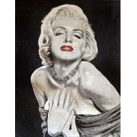 Wholesale Handmade Marilyn Monroe Mosaic Art Patterns Glass Mosaic Tile Art Mirror For Wall Painting from china suppliers