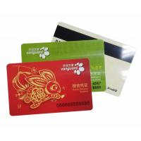 Wholesale PVC Vanguard Magstripe Cards / Goods Delivery Voucher VIP Card from china suppliers