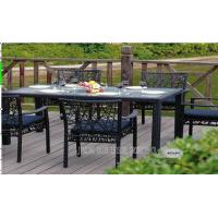 Wholesale Rattan Wicker Outdoor Patio Furniture Table And Chairs For Balcony / Lawn from china suppliers