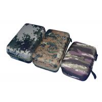 Wholesale Custom Empty Power Bank Carry Case Durable With EVA Plate , Camouflage Color from china suppliers