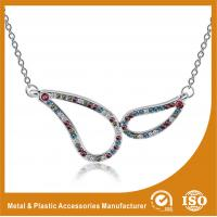 Wholesale Plating Embossing Silver Glass Chain Necklace For Promotion Gift from china suppliers