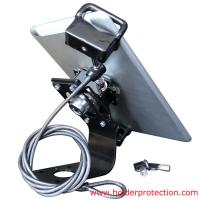 Wholesale COMER Anti-grab tablet desktop display bracket with security cable lock from china suppliers