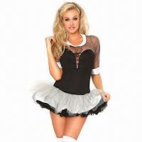 Wholesale Briar Rose Costume, Includes Blouse, Lace Up Corset, Mimi Skirt and 2 Layers Petticoat from china suppliers