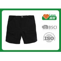 Wholesale Outdoor Male Quick Dry Pants For Summer Breathable Black Color from china suppliers