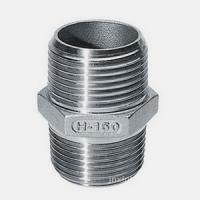 Wholesale Hex Nipple , Stainless Steel Threaded Pipe Fittings 316 from china suppliers