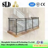 Buy cheap Glass railing H9011 ISO9001 Manufacturer from wholesalers