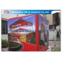 Wholesale Fire - Proof Red Inflatable Cube Tent Custom Printed Tent for Advertising from china suppliers