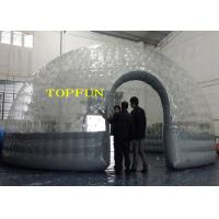 Wholesale 0.8mm PVC Transparent Clear Dome Inflatable Bubble Tent Heat Seal Double Layers from china suppliers